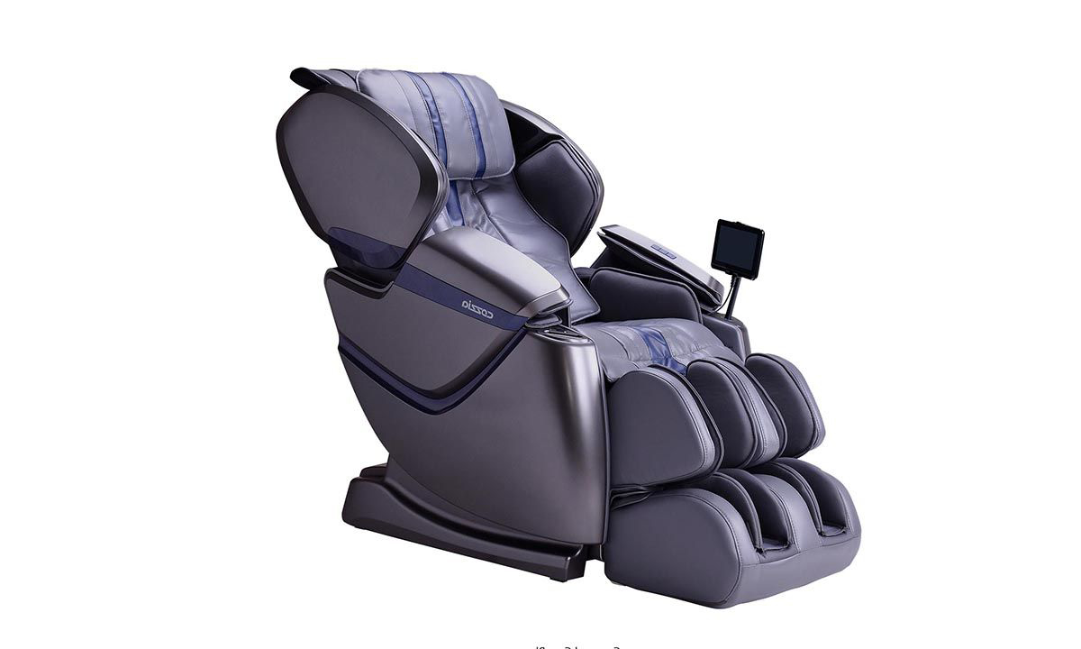 Cozzia Zen™ SE Grey Massage and Heat Therapy Power Recliner