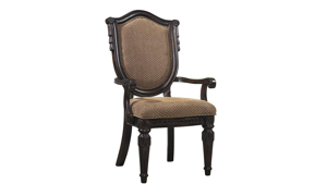 Picture of Grand Estates Upholstered Shield Arm Chair