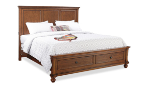 Aspenhome Oxford Whiskey Panel Storage Beds