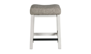 Drake French Oak Upholstered Bar Stool