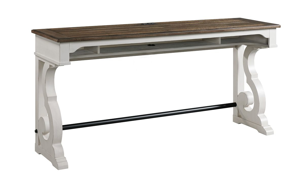 Drake French Oak Sofa Bar Table
