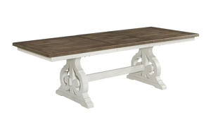 Picture of Drake French Oak Trestle Base Dining Table