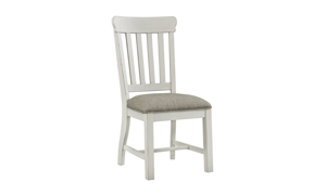 Picture of Drake French Oak Upholstered Dining Side Chair