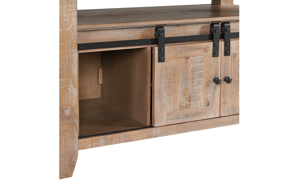 Picture of Highland Sandwash Solid Pine Counter Height 5-Piece Dining Set