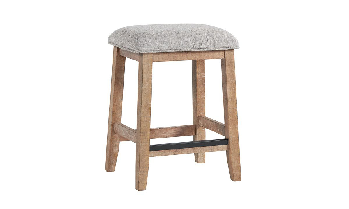 Picture of Highland Sandwash Solid Pine Counter Height Barstool