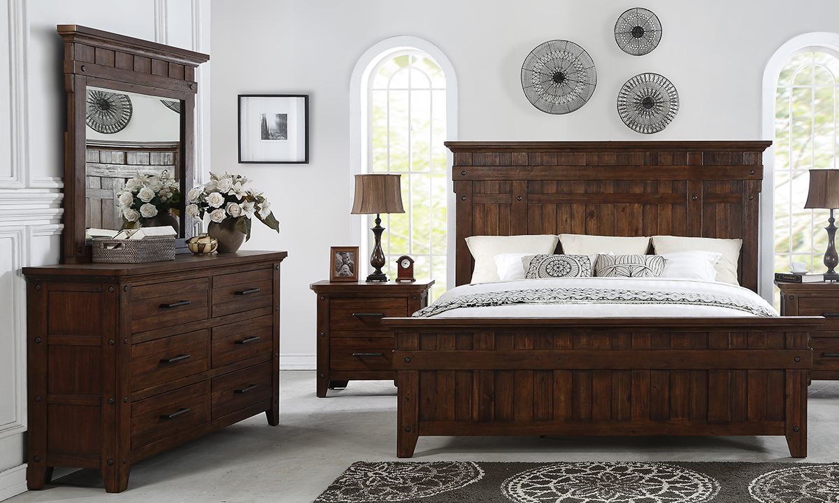 Picture of Artisan Haus Russet Umber Panel Bedroom Sets