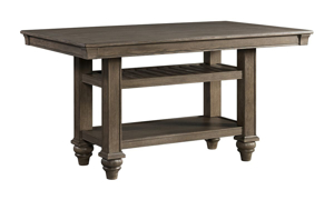 Picture of Balboa Park Roasted Oak 5-Piece Counter Height Dining Set