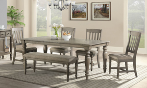 Picture of Balboa Park Roasted Oak Dining Table