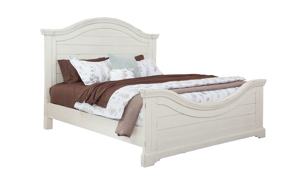 Stonebrook White Panel Beds