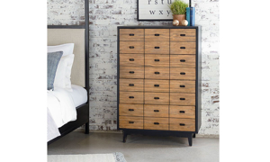 Picture of Magnolia Home Sidekick Brown 4-Drawer Chest