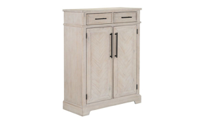 Picture of Magnolia Home Station Feather Whitewash Accent Chest