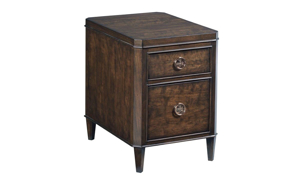 Picture of Grantham Hall Coffee Brown Chairside Table