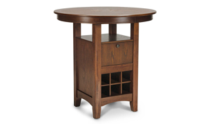 Mission Cherry Pub Height Dining Table