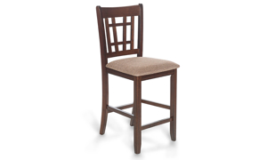 Picture of Mission Cherry Lattice Back Counter Height Stool
