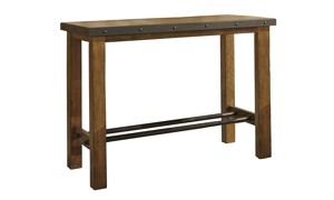 Taos Canyon Brown 3-Piece Bar Table Set