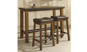 Taos Canyon Brown Barstool