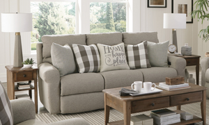 Westport Metal Dual Power Reclining Sofa
