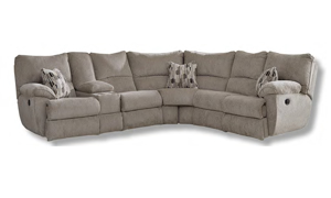 Elliot Pewter Reclining Sectional