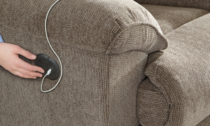 Elliot Pewter Power Reclining Sectional