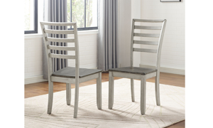 Abacus Alabaster and Honey Dining Chair
