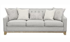 Andorra Grey Tufted Sofa