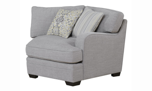 Anneliese Grey 3-Piece Chaise Sectional