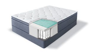 "Serta® SleepTrue™ Stratton 13"" Plush Euro Top Mattresses"