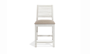 Stone Ivory Counter Height Dining Stool