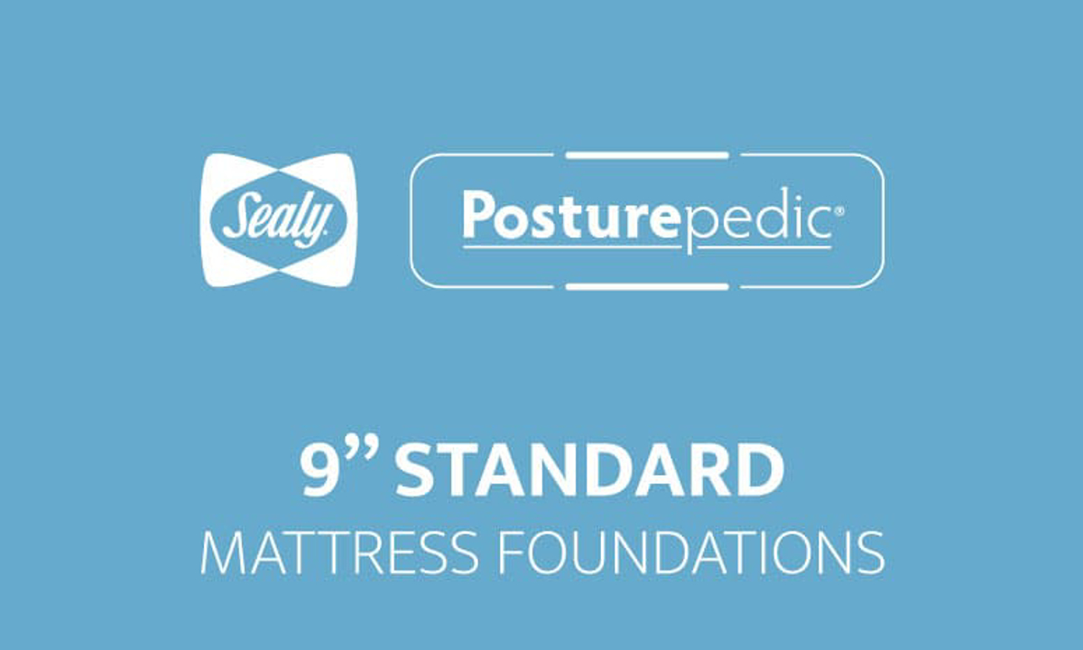 """Sealy 9"""" Standard Foundations"""