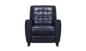 Top quality leather pushback recliner at an affordable price.