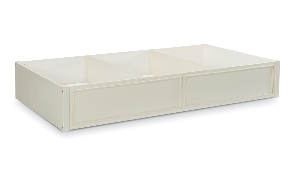 Lakehouse Pebble White Trundle and Storage Drawer
