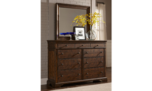 Trisha Yearwood Daisy Coffee 9-Drawer Dresser