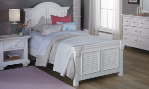 Cottage Traditions White Youth Panel Bedroom Sets