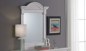 Cottage Traditions White Youth Vertical Mirror