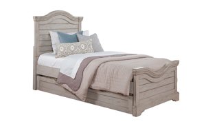 Stonebrook Grey Youth Panel Beds