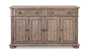 Cardoso Sandstone server from Klaussner made of solid wood.