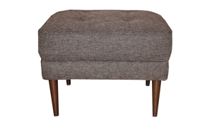 Living room ottoman that matches the Sunset Brown collection.