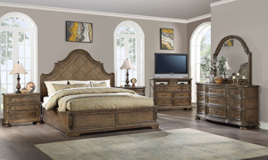 Home insights furniture the Big Sky Brown collection.