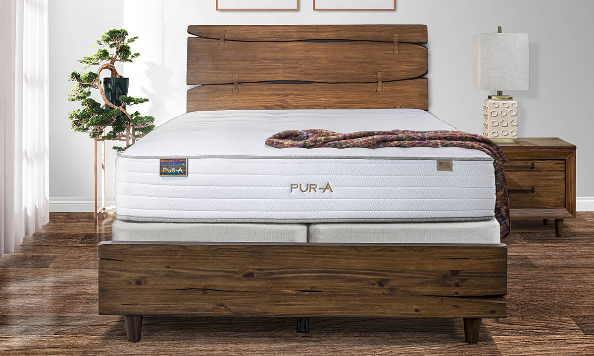 Pura Celestial mattress will have you waking up feeling completely rested.