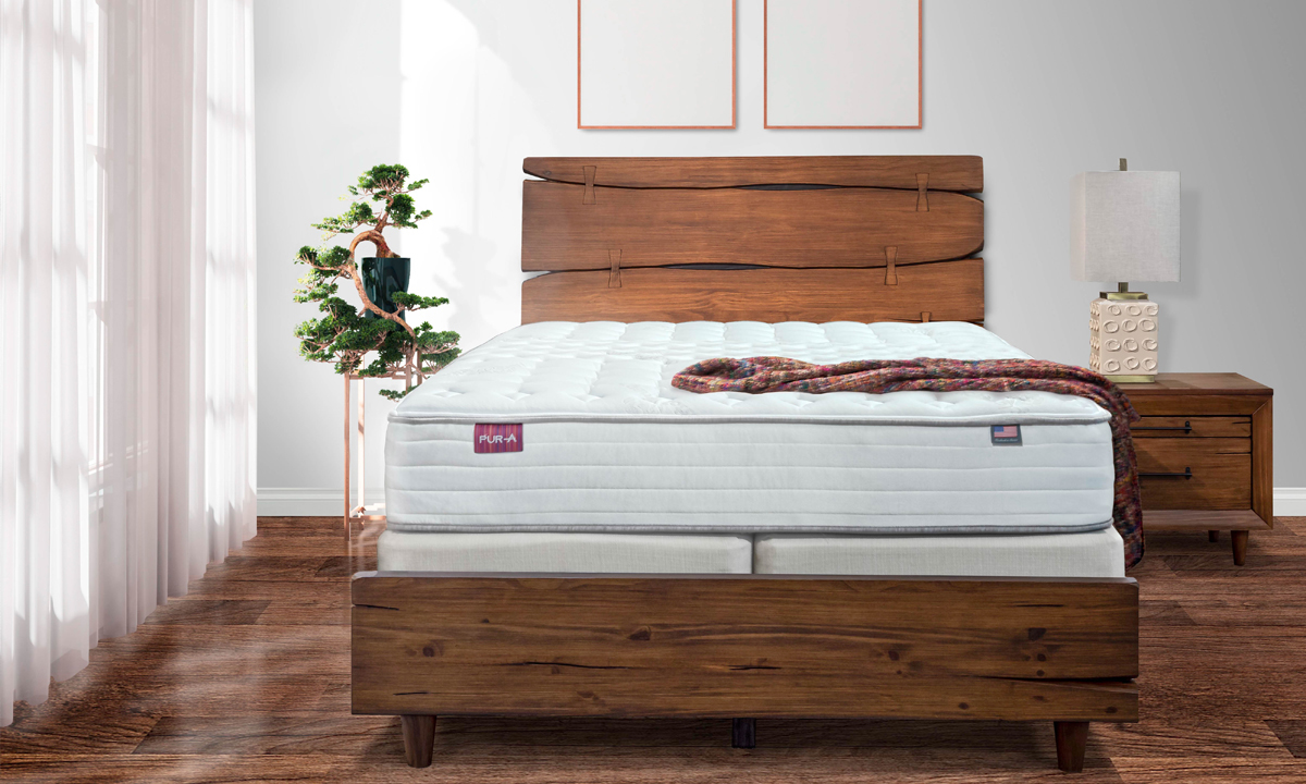 Pura Serene mattress will have you waking up feeling completely rested.