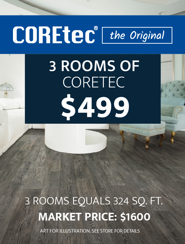 3 Rooms of Coretec $499